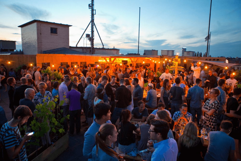 Colonia Nova - Rooftop winebar