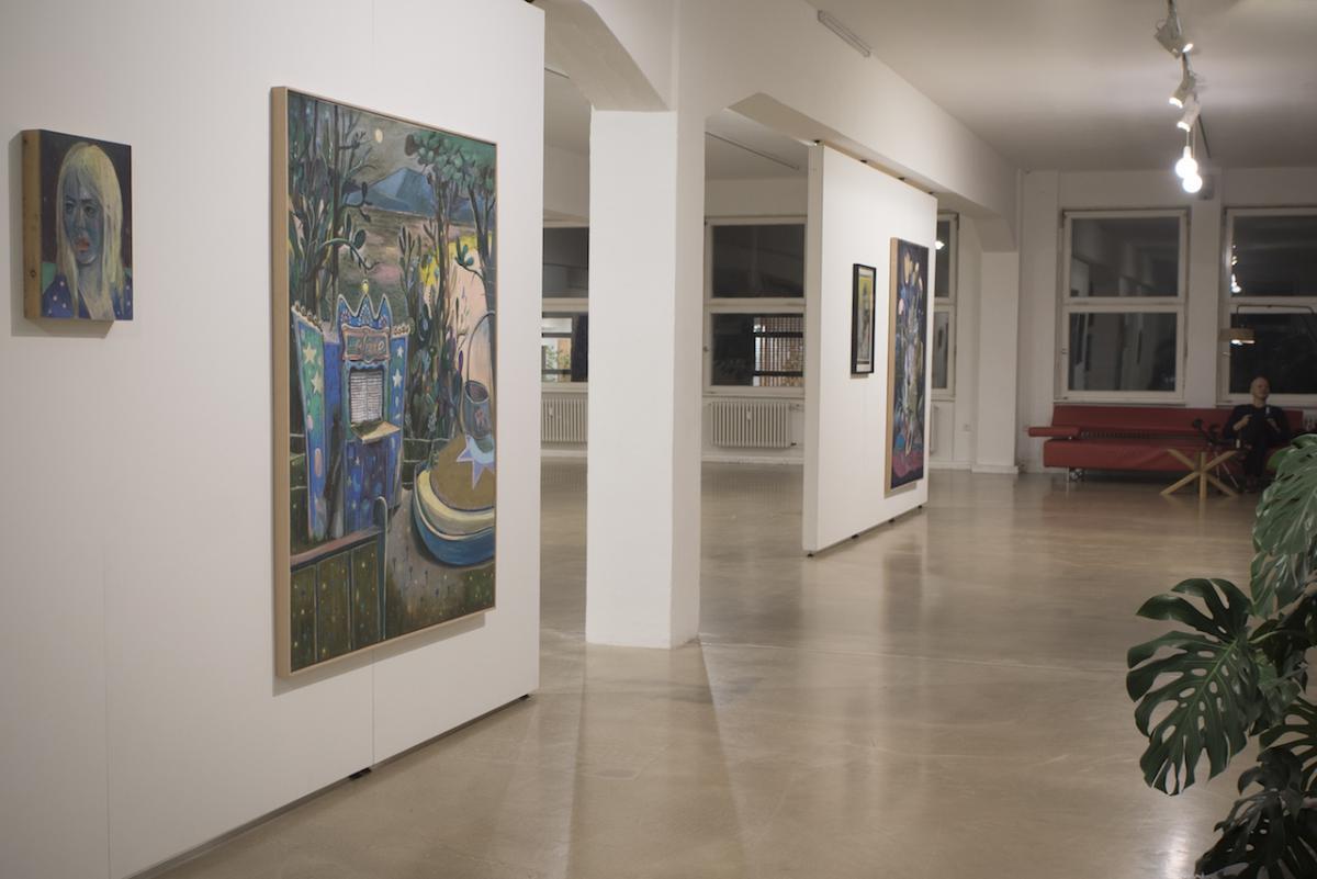Colonia Nova - Art Exhibition, Daniel Maria Thurau Berlin